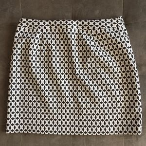 Banana Republic Jacquard Mini-Skirt NWT Size 16T
